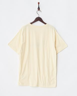 クリーム ウマアニマルプリントTシャツ見る