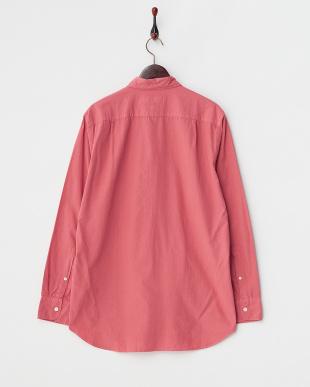 ピンク  GD Broad長袖シャツ見る