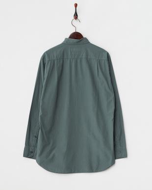グリーン  GD Broad長袖シャツ見る