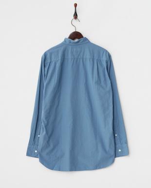 ブルー  GD Broad長袖シャツ見る
