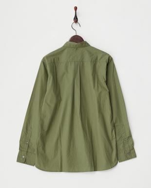 OLIVE/OD  B:GIZA BRORD BDシャツ見る