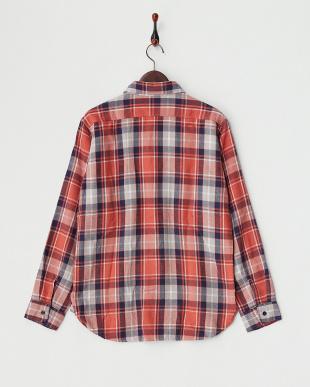 RED  B:ヘビーネルチェックシャツ見る
