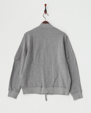 GREY  B:SWEAT MA-1見る