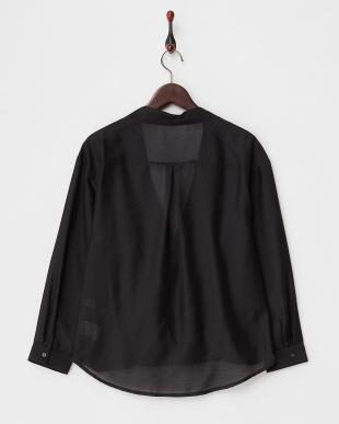 BLACK  B:ボイルカシュクールシャツ見る