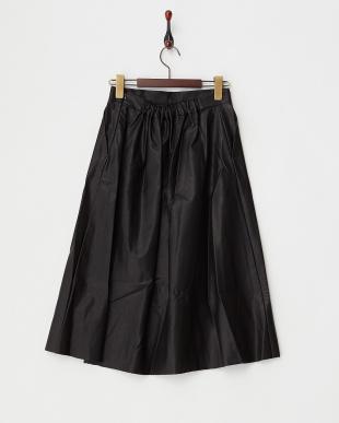 BLACK  B:Aラインスカート見る