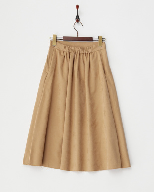 BEIGE  B:Aラインスカート見る
