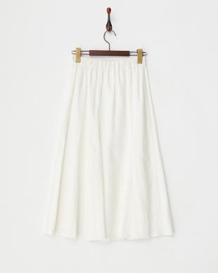 WHITE B:リネンスカート見る