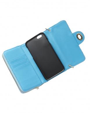 ライトブルー  LV:deco iPhoneウォレット見る