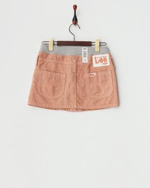 ピンク Lee:RIBスカート見る