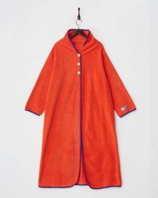 オレンジ  NuKME ヌックミー 着る毛布 ロングタイプ見る