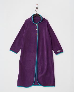 パープル  NuKME ヌックミー 着る毛布 ロングタイプ見る