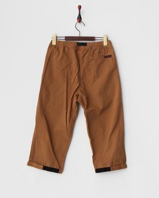 BROWN 3/4 LENGTH PANTS│MEN見る