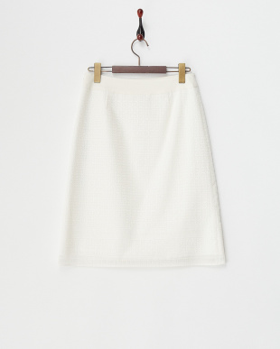 ホワイト オーガンジーレーススカート見る