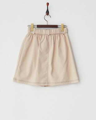 ベージュ  ミリタリースカート見る