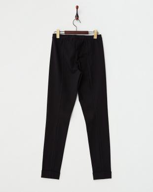 BLACK OGNI Jersey Pants・ストレッチ見る