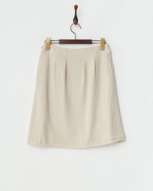 ベージュ ショートスカート見る