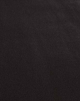 ブラック  ロッソ フランネルラグ 185×185cm見る