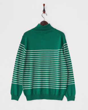 GRN×OFF  Washable Wool Turtle Knit DOORS見る