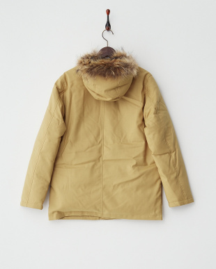 Beige  Wool Down Parker DOORS見る