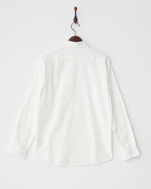 WHITE シャギー起毛B.Dシャツ UR見る
