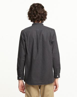 GRY/WHT  コーデュロイドットPT2ポケシャツ WH見る