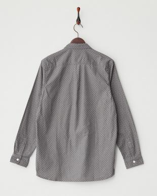 L.GRY/WHT  コーデュロイドットPT2ポケシャツ WH見る