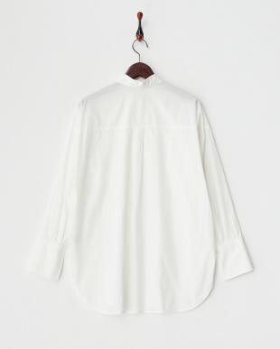 ホワイト  ウォッシュドタイプライタBIGシャツ見る