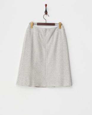 グレー  ヘリンボーンスカート見る