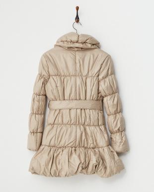 BEIGE  ショールカラー中綿コート見る