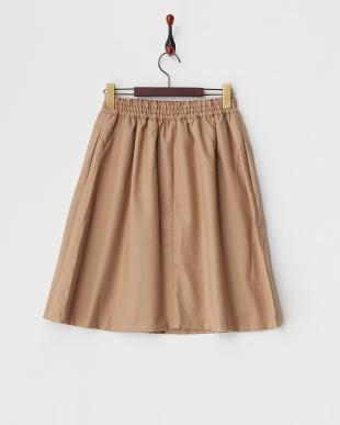 ベージュ  TRビエラギャザースカート見る
