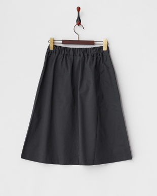 チャコール  綿起毛ストレッチスカート見る