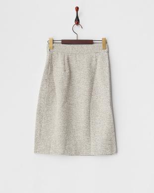 キナリ  ラメツイードスカート見る