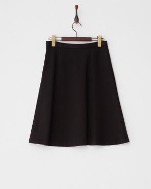 ブラック  ストレッチポンチスカート見る