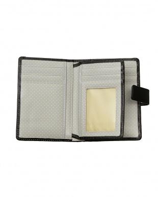 ブラック  SWIMMINGPRETTY 二つ折り財布見る