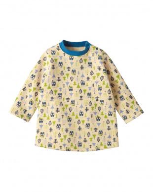 ネイビー  森とおうちあったかパジャマ見る