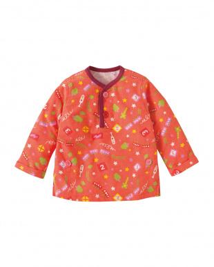 オレンジ やこうれっしゃパジャマ見る