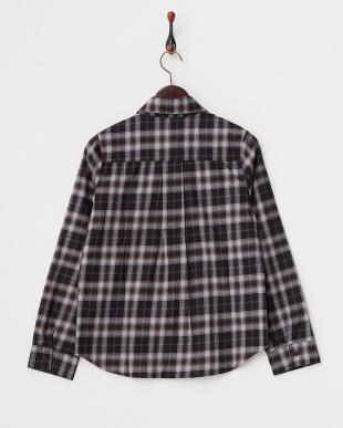 BLACK×BROWN  チェックシャツ見る