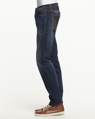 ネイビー MORRISON PK BLUE DENIM COMFORT 9.5OZ 5 POCKETS見る