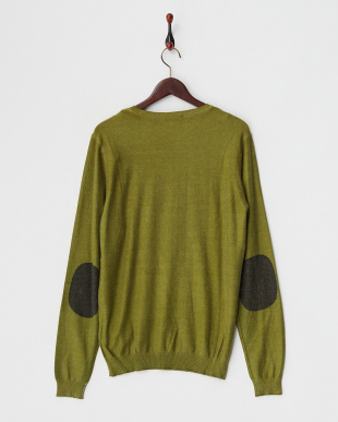 VERDE ACEITE  NILL WINTER/S PRINTED MIX VISCOSE KNITWEAR見る