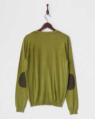 VERDE ACEITE  NILL WINTER CARD/S PRINTED MIX VISCOSE KNITWEAR A見る