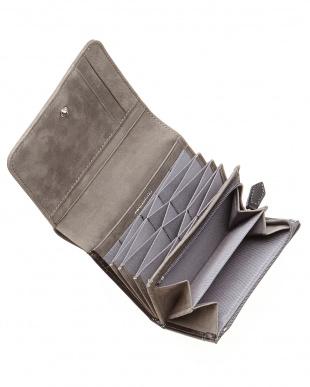 ブラック  2つ折りハニーセル財布見る