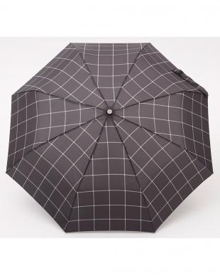 チェックW80  totes line 3 sec Manual 手動開閉折りたたみ傘見る