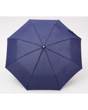 ネイビー  TITAN 60cm 3 sec AOC 自動開閉折りたたみ傘見る