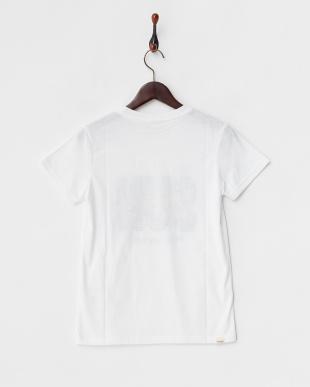 ホワイト  CAMO MESSAGE Tシャツ見る