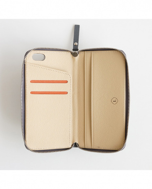 グレー  ZIP-Around iphone6/6s見る