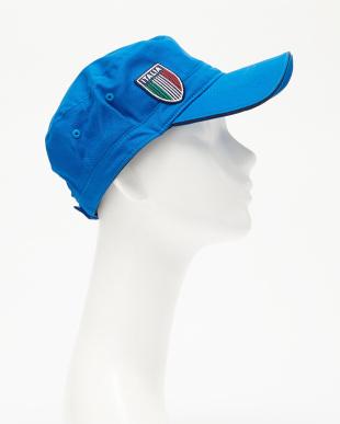 イタリアンブルー  ITALIAロゴ ワークキャップ見る
