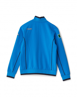 イタリアンブルー  「ITALIA」ロゴ トラックジャケット見る