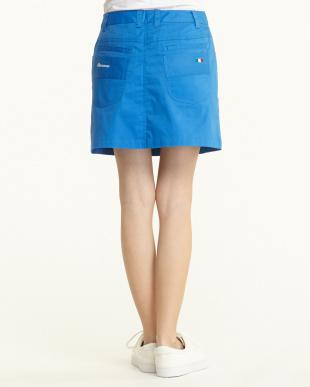 イタリアンブルー  マイクロヘリンボーン ストレッチスカート見る