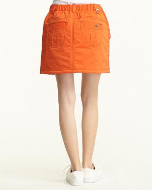 オレンジ  サーモカーゴスカート見る