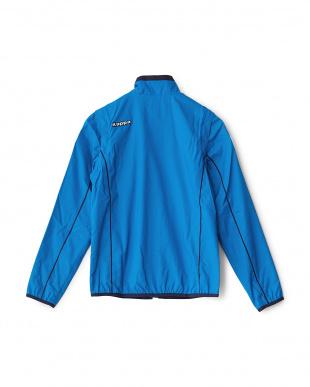 イタリアンブルー  袖着脱式 「ITALIA」ロゴ ブルゾン見る